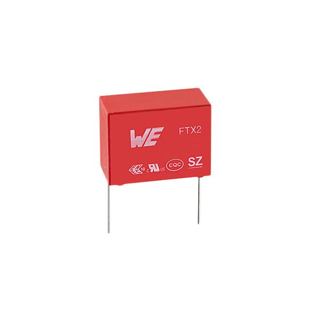 ± 0.33 µF WURTH ELEKTRONIK    890324024003    Film Capacitor WCAP-FTX2 Series